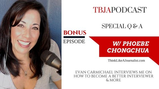 BONUS: How To Become A Better Interviewer, Phoebe Chongchua, TBJApodcast