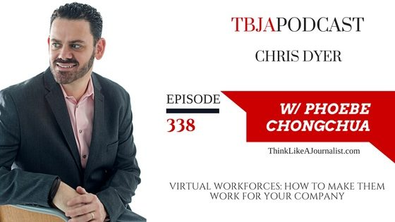 Virtual Workforces: How To Make Them Work For Your Company, Chris Dyer, TBJApodcast 338