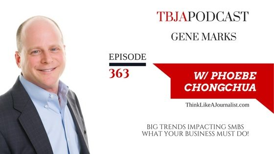 Top Trends Impacting SMBs In 2017, Gene Marks, TBJApodcast 363
