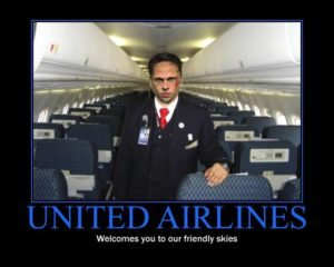 United Airlines Fiasco meme
