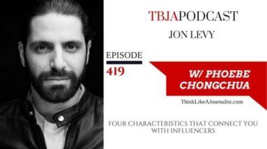 Jon Levy, TBJApodcast 419